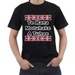 Te Mana Motuhake A Tuhoe Black T-Shirt