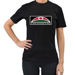 Tuhoe Flag Women's Black T-Shirt