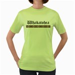 Whakatohea with Rautawa Design Women's Fitted Ringer T-Shirt