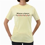 Whakatohea with Rautawa Design Women's Yellow T-Shirt