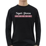 Ngati Porou Design Long Sleeve Dark T-Shirt