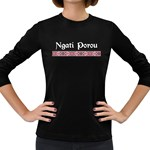 Ngati Porou Design Women s Long Sleeve Dark T-Shirt