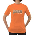 Aotearoa with Paua Design Women's Dark T-Shirt