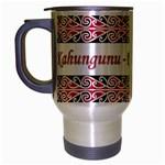 Kahungunu - Rongomaiwahine Travel Mug (Silver Gray)