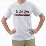 Te Ati Awa Design White T-Shirt