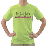Te Ati Awa Design Green T-Shirt