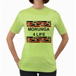 Morunga 4 Life Women's Green T-Shirt