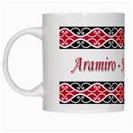 Aramiro - Ngati Mahanga White Mug