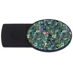 Paua USB Flash Drive Oval (4 GB)