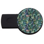 Paua USB Flash Drive Round (1 GB)