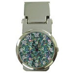 Paua Money Clip Watch