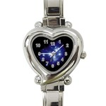 Matariki Heart Italian Charm Watch