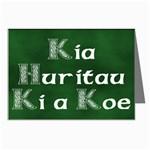 Kia Huritau Ki a Koe - Happy Brithday to You Greeting Card