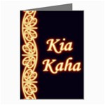 Kia Kaha with Mangotipi Greeting Card