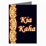 Kia Kaha with Mangotipi Greeting Card