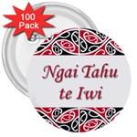 Ngai Tahu Te Iwi  3  Button (100 pack)