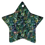 Paua Design Star Ornament (Two Sides)