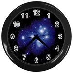 Matariki Wall Clock (Black)