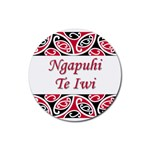 Ngapuhi Te Iwi Rubber Round Coaster (4 pack)