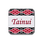 Tainui Rubber Square Coaster (4 pack)
