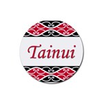 Tainui Rubber Round Coaster (4 pack)