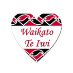 Waikato Te Iwi Magnet (Heart)
