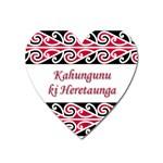 Kahungunu Ki Heretaunga Magnet (Heart)