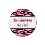 Tuwharetoa Te Iwi Rubber Coaster (Round)