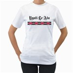 Ngati Te Ata with Patiki Design Women's T-Shirt