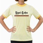 Ngai Tahu Women s Fitted Ringer T-Shirt