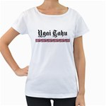 Ngai Tahu Maternity White T-Shirt