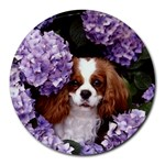 English Toy Spaniel Round Mousepad
