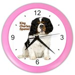 English Toy Spaniel Color Wall Clock