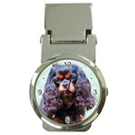 English Toy Spaniel Money Clip Watch