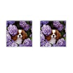 English Toy Spaniel Cufflinks (Square)