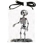 Skeleton Child Shoulder Sling Bag