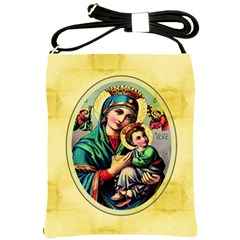 Mother Mary Shoulder Sling Bag from Manda s Macabre Front