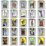 Tarot 9mm Italian Charm (25 pack)