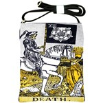 Tarot Death Shoulder Sling Bag