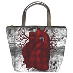Heart Bucket Bag