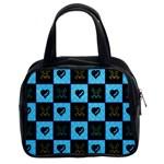 Skulls & Hearts Classic Handbag (Two Sides)