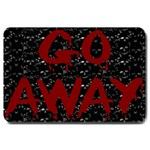 Go Away Large Doormat