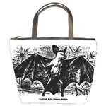 Vampire Bat Bucket Bag