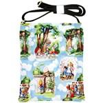 Adventures In Wonderland Shoulder Sling Bag
