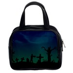 Trick or Treat Classic Handbag (Two Sides)