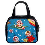 Vintage Kids In Space Classic Handbag (Two Sides)
