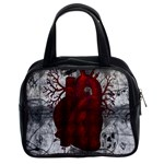 Dark Human Heart Classic Handbag (Two Sides)