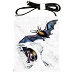 Bats Shoulder Sling Bag