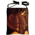 Anatomy Skeletal Female Back Shoulder Sling Bag