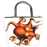 Cephalopoda Of The Hawaiian Islands Bucket Bag from Manda s Macabre Back